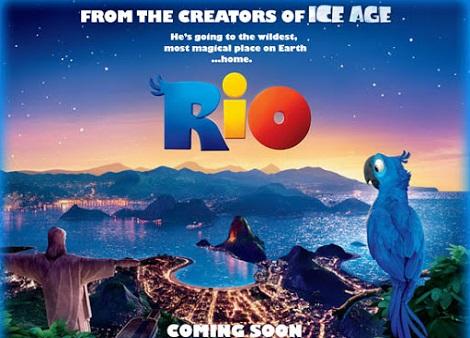 Download Rio (2011) Dual Audio [Hindi+English] 720p + 1080p Bluray MSubs