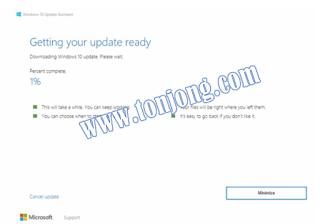 cara update windows10 dengan aplikasi bawaan windows