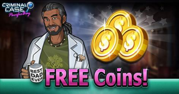 Criminal Case Pacific Bay Free Coins Criminal Case Free