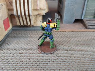 Judge Dredd Miniature