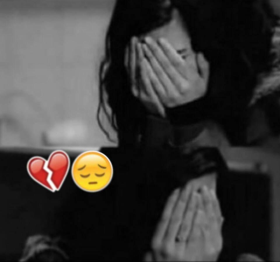 heart broken girl dp