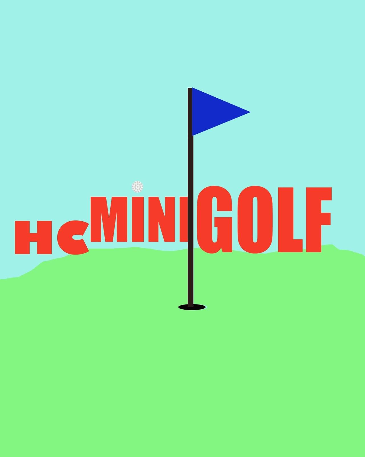 Lindsey Mast Graphic Design Mini Golf Logo Designs