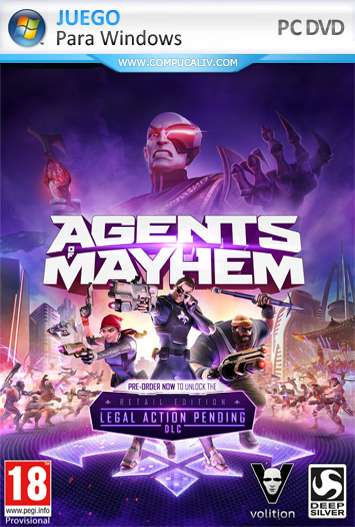 Agents of Mayhem PC Full Español