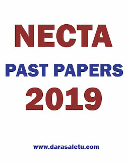 NECTA-PAST PAPERS OF CERTIFICATE OF SECONDARY EDUCATION EXAMINATION (CSEE) 2019.