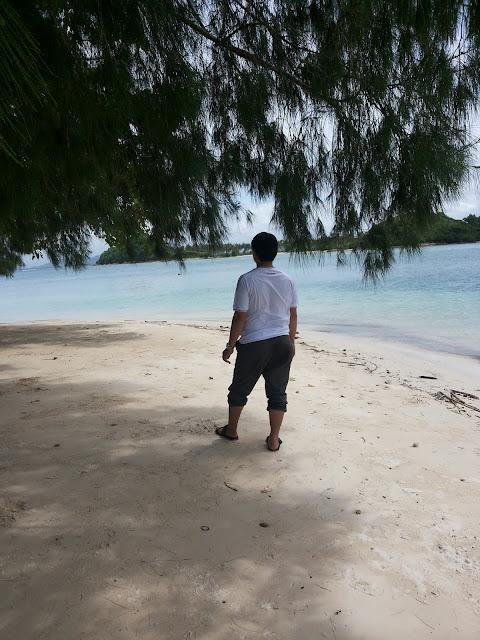 Pasir putih Gili Sudak - Wisata Lombok