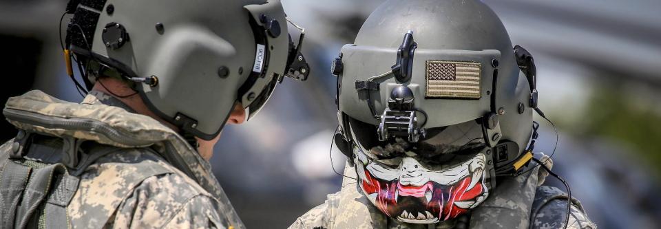 На озброєння ЗСУ прийняли американські шоломи для пілотів