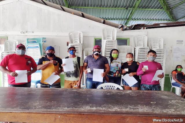 Em Óbidos, Colônia Z-19 realiza 2º repasse para pescadores de Ipaupixuna