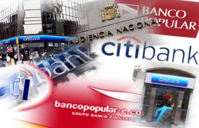 Declaraciones de exdirectivo del Banco Popular en España comprometen a Citi