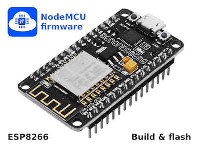 Build and install NodeMcu firmware on ESP8266 boards