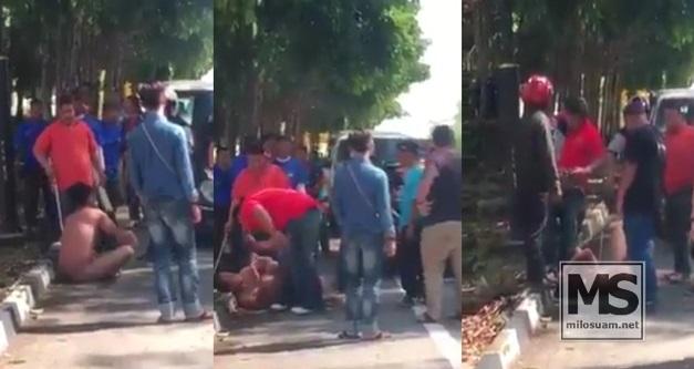 Lelaki dakwa kena pukul dengan samseng Umno dalam keadaan bogel