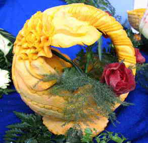 Món ăn ngon và nghệ thuật cắt tỉa rau củ quả