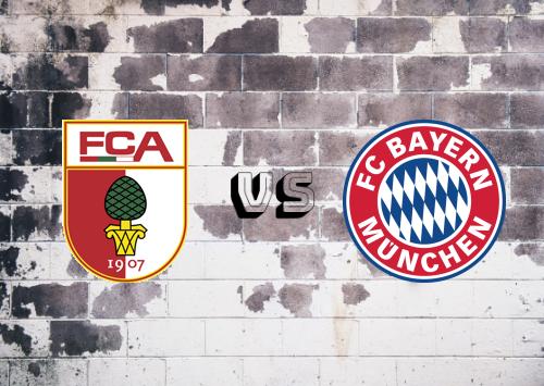 Augsburg vs Bayern München  Resumen y Partido Completo