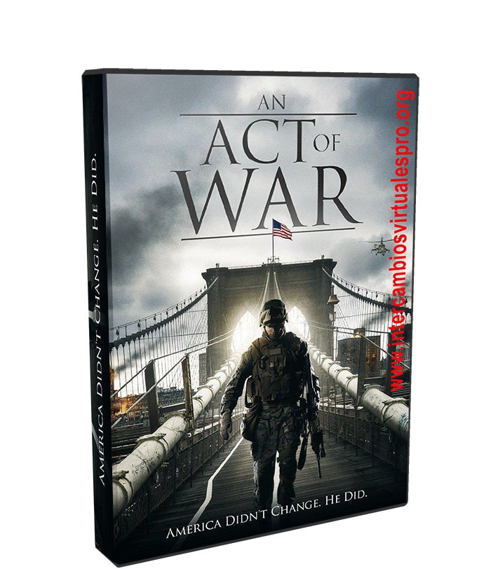 An Act of War poster box cover