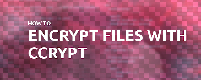 Ccrypt: A Tool For Encryption & Decryption Of Files
