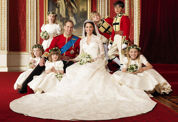 Prince William, the king of the future and heir to the throne after his father Prince Charles got married with Kate Middleton
