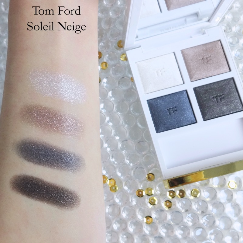 Tom Ford Soleil Eye Color Quad Soleil Neige (01) swatch