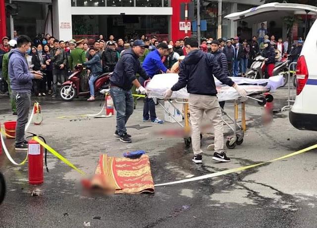 Công An tìm kiếm người nhà nữ nạn nhân bị ô tô đâm tử vong ngày hôm qua