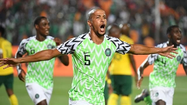 Nigeria wins South Africa on 2019 AFCON