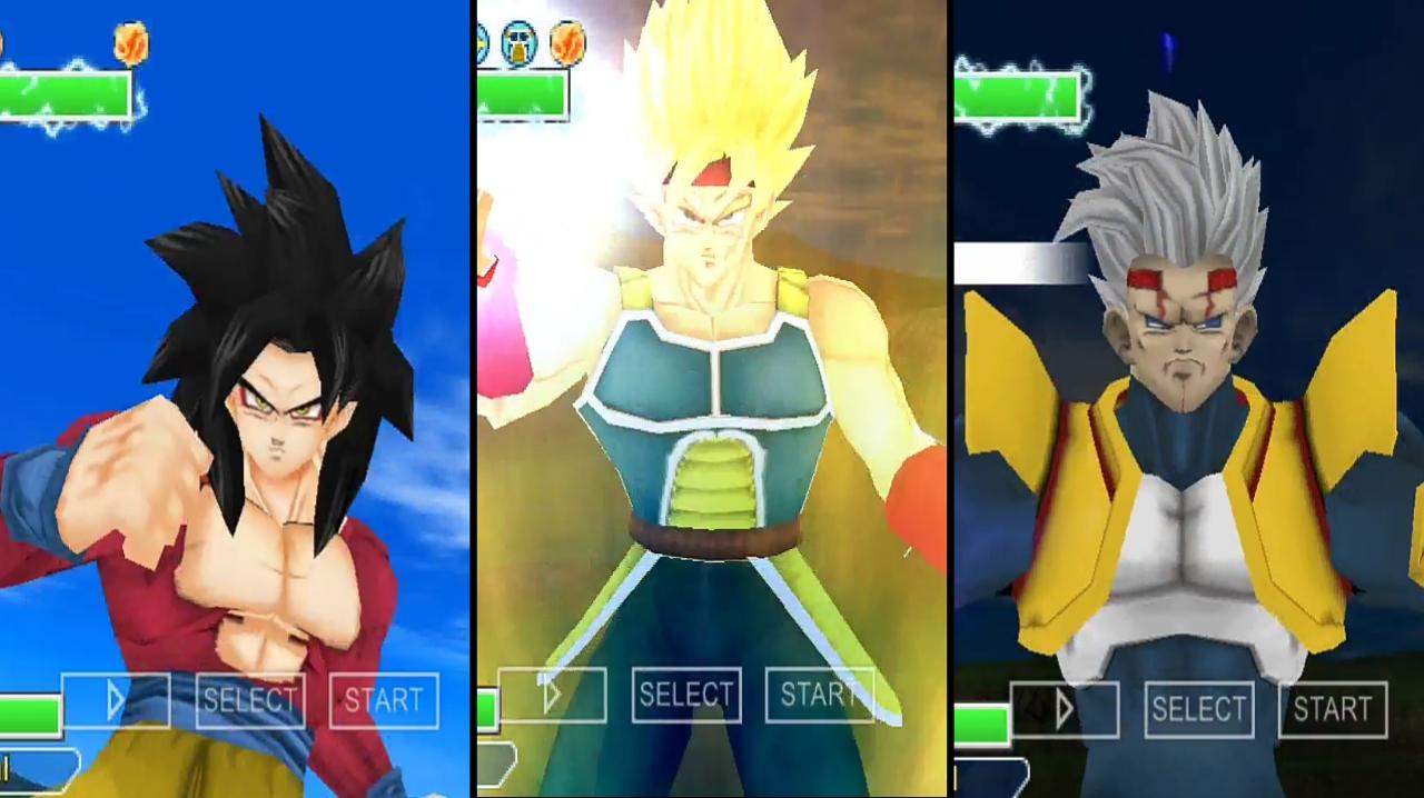 Dragon Ball GT Budokai Tenkaichi 3 Mod