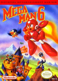 Capa do jogo Mega Man 6 para Nes