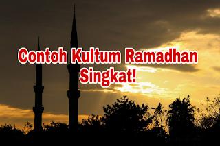 Kultum Ramadhan Singkat Terbaik 2018
