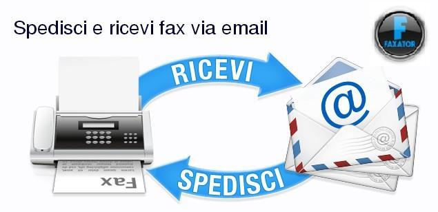 Faxator è un servizio che permette di ricevere e spedire fax in tutto il mondo con la sola tua email.