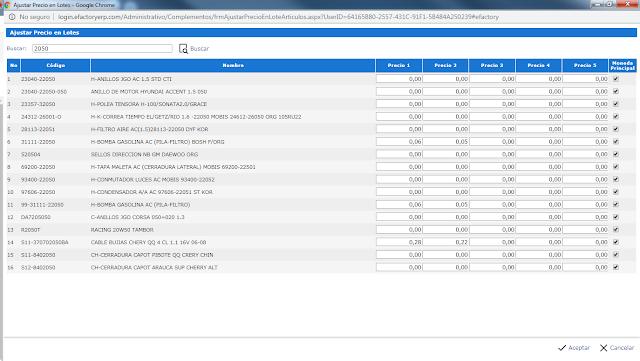 eFactory Software Administrativo en la Nube