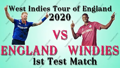 Who will win ENG vs WI 1st TEST Match