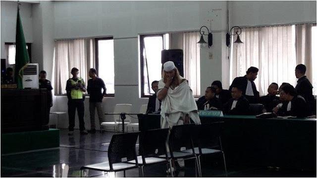 Habib Bahar Divonis 3 Tahun Penjara