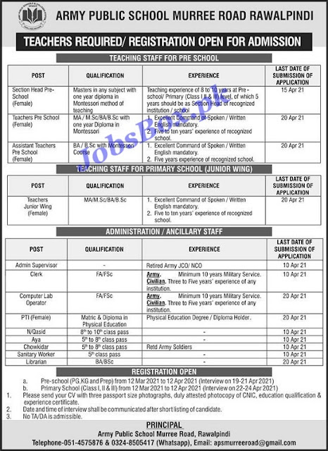army-public-school-rawalpindi-jobs-2021-advertisement