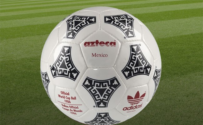 Jabón modo Volverse loco  Adidas Azteca (Mundial 1986) - elFutbloglin