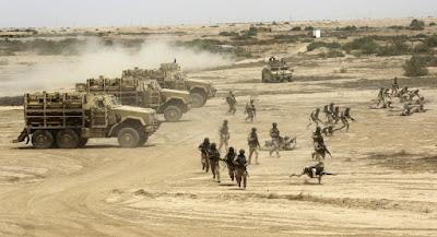 ISIS Serang Markas Militer Irak