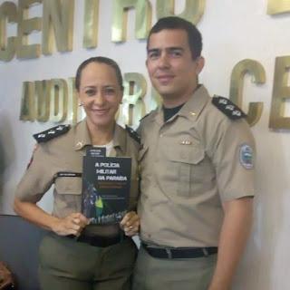 Comandante da Companhia de Alagoa Grande tem texto publicado em livro sobre Polícia Militar da Paraíba