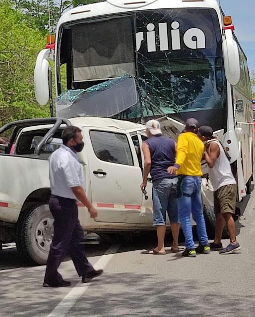 Accidente de transito a la altura del municipio de Ponedera, varias personas heridas