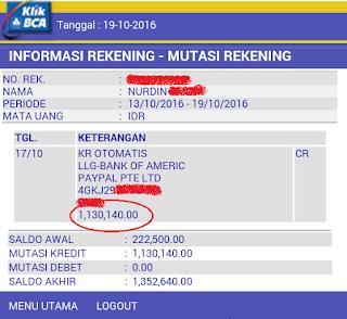 Screenshot 2016 10 19 09 25 00 Gajian dari bisnis online yang cair ke bank lokal BCA saya