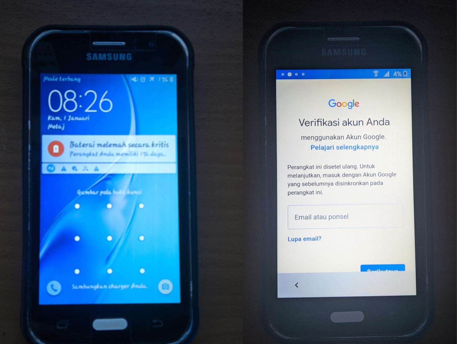 ByPass Pola dan FRP Samsung J1 Ace