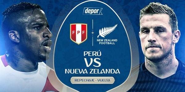 Perú vs Nueva Zelanda EN VIVO Mundial Rusia 2018