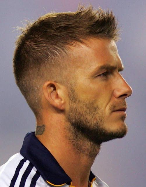 David Beckham Clean Haircut