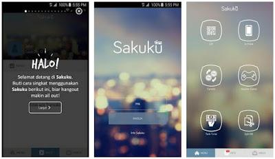 Aplikasi Uang Elektronik - Sakuku