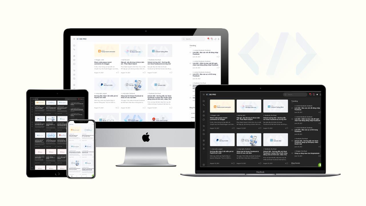 Thiết kế và sửa lỗi giao diện Blogger