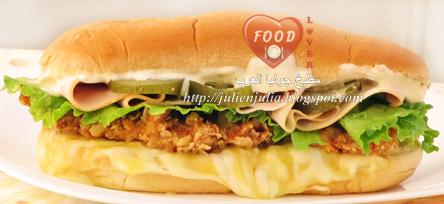 Super crunchy chicken sandwich سندويتش سوبر كرانشي تشيكن