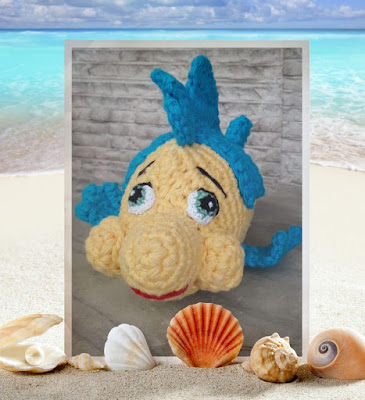 Crochet Flounder free pattern