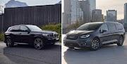 BMW X5 xDrive45e vs Chrysler Pacifica Limited Hybrid