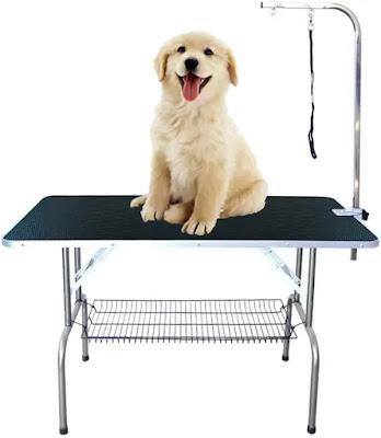 Mesa de Aseo Plegable para Perros