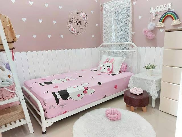 Lagi Trend Desain Interior Kamar Tidur Anak Perempuan Minimalis Terbaru