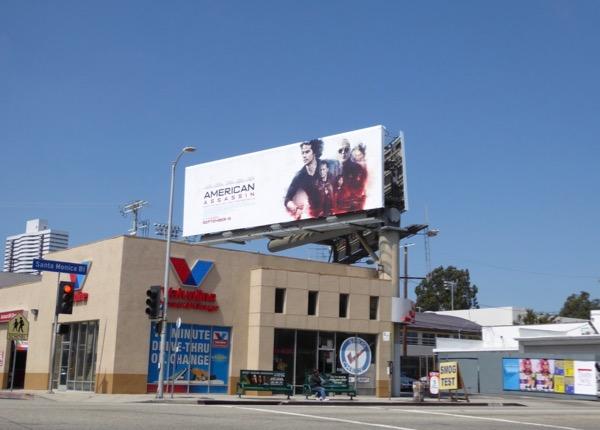 American Assassin billboard