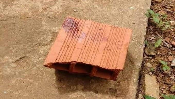 AFUNDAMENTO DE CRÂNIO: Homem é preso após agredir brutalmente o primo a tijolada