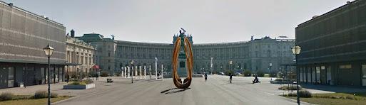 Corona Denkmal – Zeichen der Hoffnung, Parlament Wien