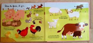 Mes bébés animaux - Editions MILAN - Dans la ferme, il y a...