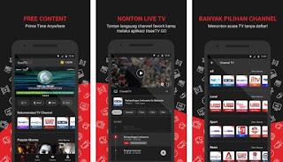 Useev Go TV Online Tanpa Kuota Data